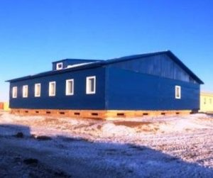 Project F's mine site and office