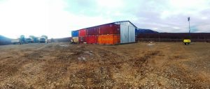 Photo of shipping containers