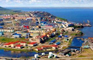 View of Chukotka