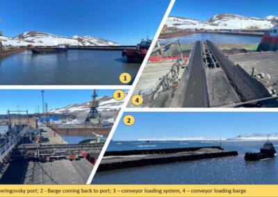 Beringovsky Port & Coal Terminal
